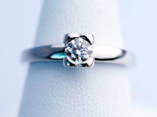 IF(インターナリーフローレス)のダイヤモンド オーダーメイドデザインリング