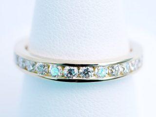 ダイヤモンド フルエタニティリング(K18)