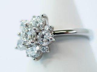 1ct以上、11個のダイヤモンド オーダーメイドリング