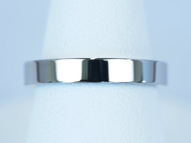 結婚指輪 鍛造 平打