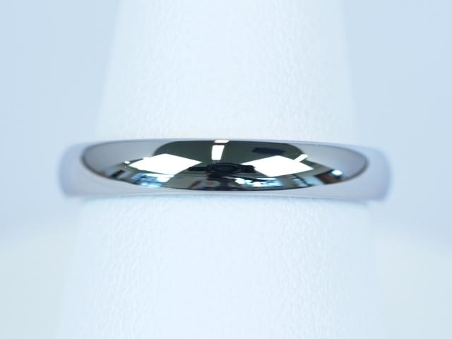 結婚指輪 鍛造 甲丸