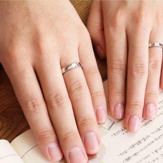 結婚指輪No2 3.5 プラチナ ハンマー・槌目