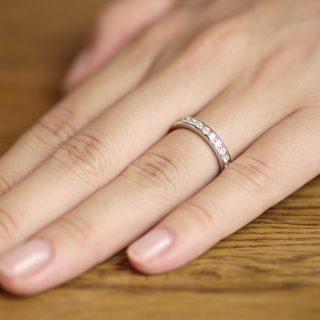 エタニティリングを結婚指輪として使う