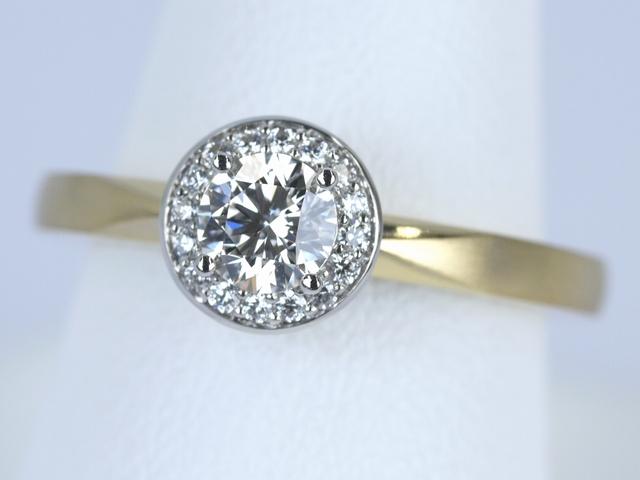 東京都文京区のI様 オーダーメイドの婚約指輪