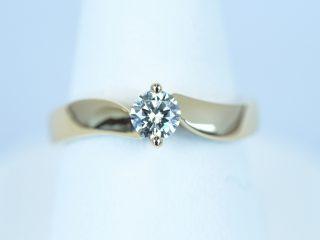 イエローゴールド K18 ダイヤモンド