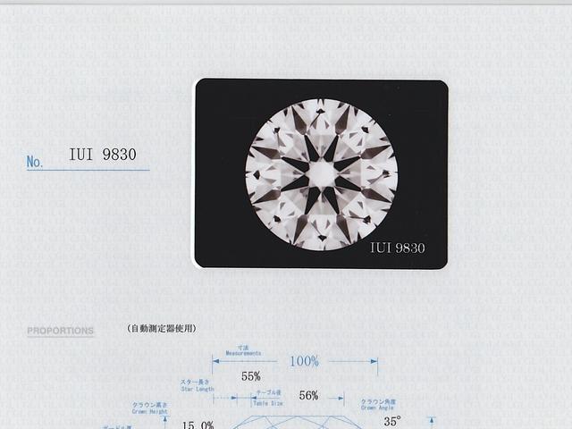 中央宝石研究所(CGL) ダイヤモンド 写真