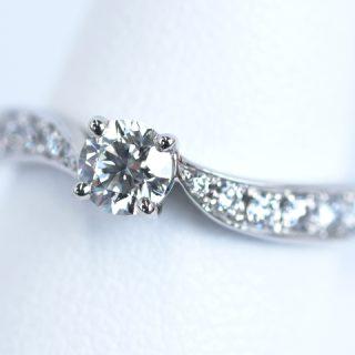 婚約指輪リーフ 結婚指輪No3 トルマリン タンザナイト