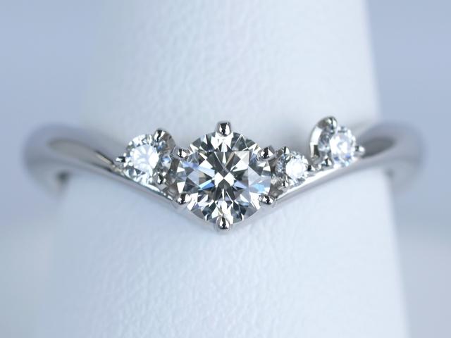 東京都八王子市のK様 オーダーメイドの婚約指輪