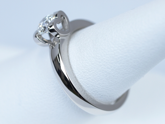 婚約指輪 0.7カラット オーダーメイド