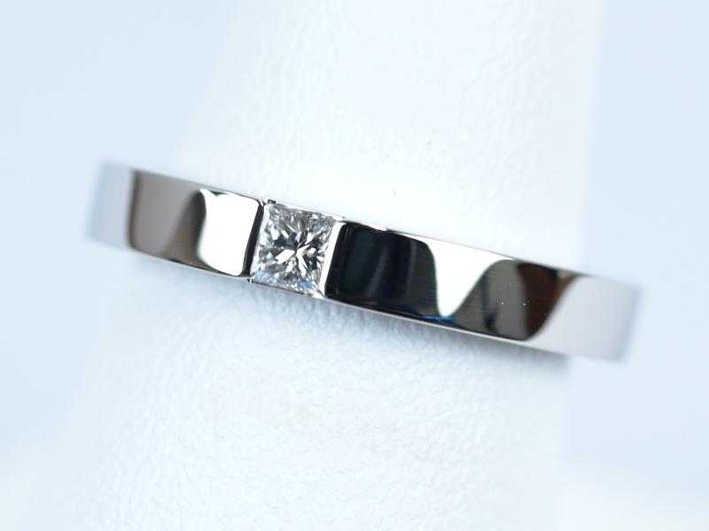 結婚指輪 プリンセスカット ハリー ウィンストン