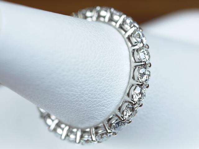 フルエタニティリング 結婚指輪
