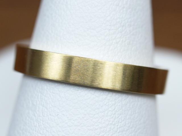 結婚指輪 ツヤ消し