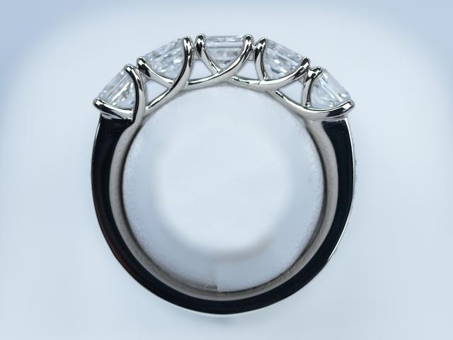 プリンセスカット 0.5ctダイヤモンド