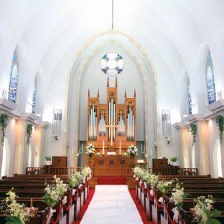 アイビーホール 青学会館 チャペル 結婚式 挙式 ウェディング 表参道 青山