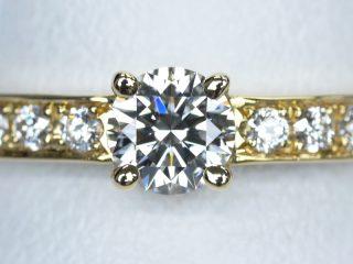 婚約指輪 イエローゴールド