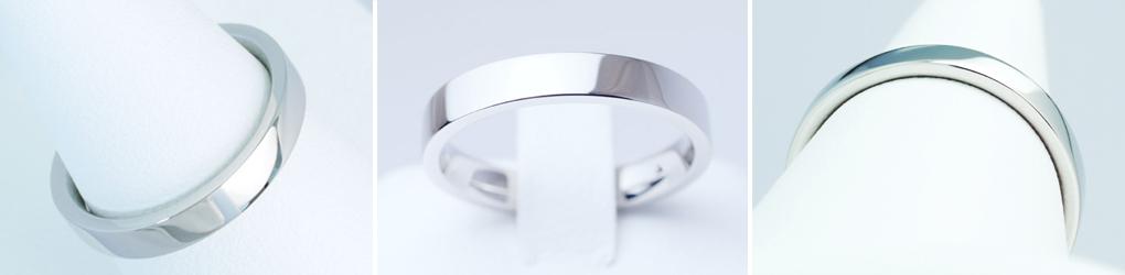 結婚指輪 デザイン 平打