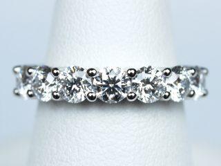 エタニティリング 【0.18ct D VVS1 3EX H&C】ダイヤモンド