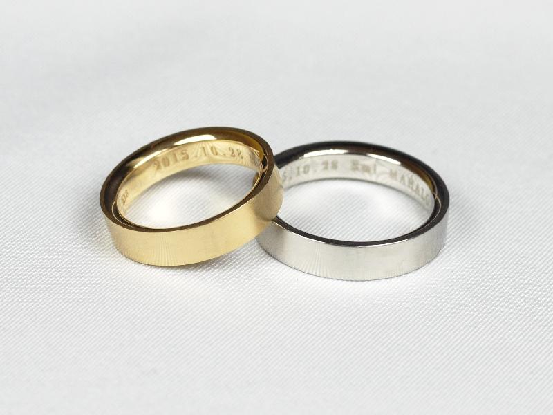 結婚指輪 鍛造 たんぞう