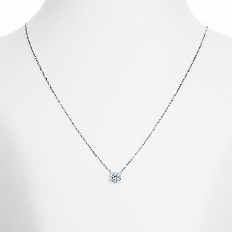 ペンダント ダイヤモンド 0.30ct プラチナ
