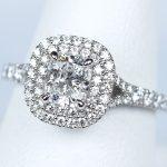 ティファニー ソレスト クッション カット 婚約指輪