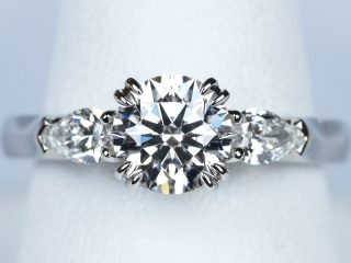 婚約指輪 1カラット ダイヤモンド E VS1 3Excellent