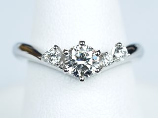 リフォームした婚約指輪