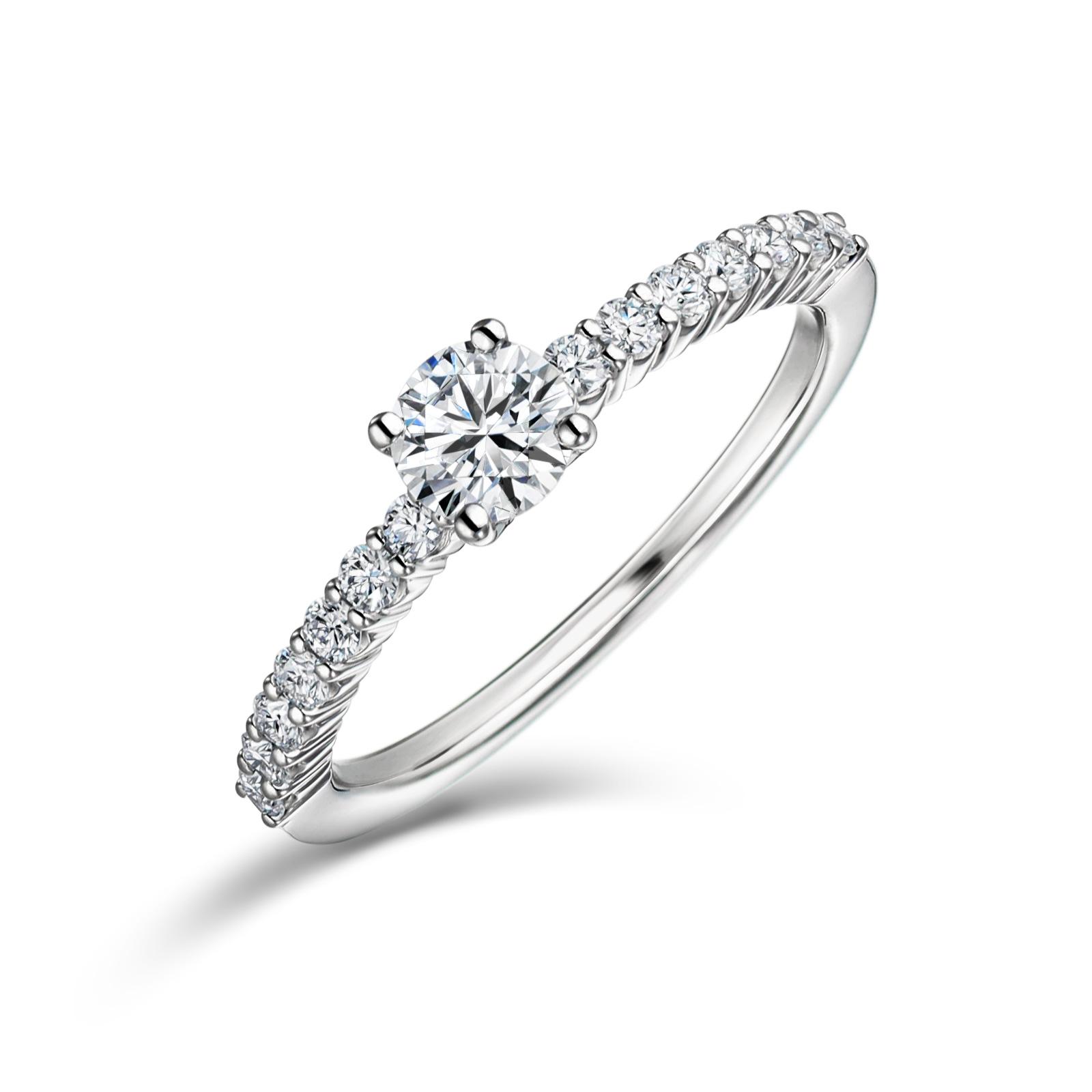婚約指輪 エタニティ 0.3カラット ダイヤモンド