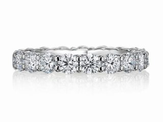 フルエタニティリング フルエタニティリング 合計1.98カラットのダイヤモンド