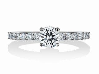 婚約指輪 ダイヤモンド 0.5カラット