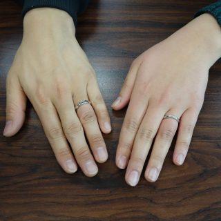 山梨県 甲府市のお客様 結婚指輪