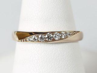 結婚指輪No3 K18 ピンクゴールド