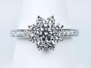 婚約指輪 サンフラワー ハリー・ウィンストン