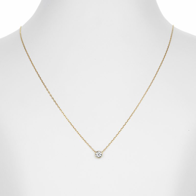 ペンダント ダイヤモンド 0.30ct ゴールド