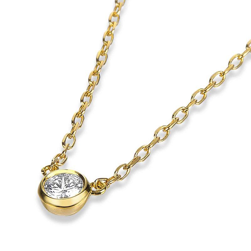ペンダント ダイヤモンド 0.10ct ゴールド