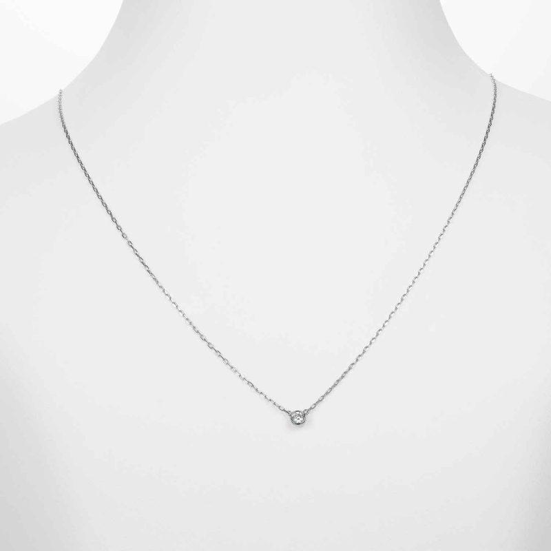 ペンダント ダイヤモンド 0.10ct プラチナ