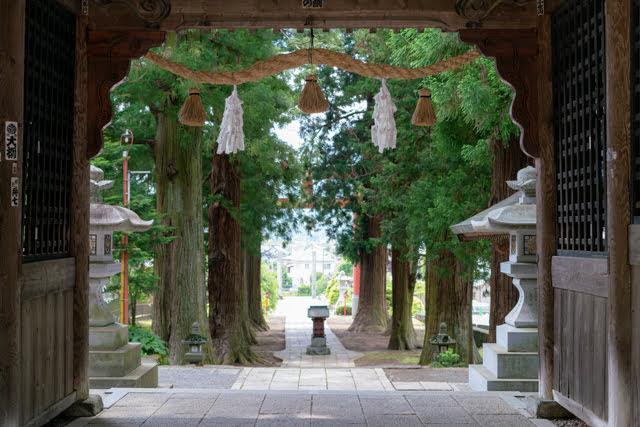 富士河口湖町 観光 河口浅間神社
