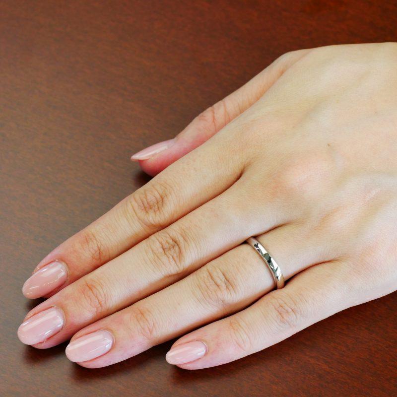 結婚指輪No4 男女兼用 プラチナ