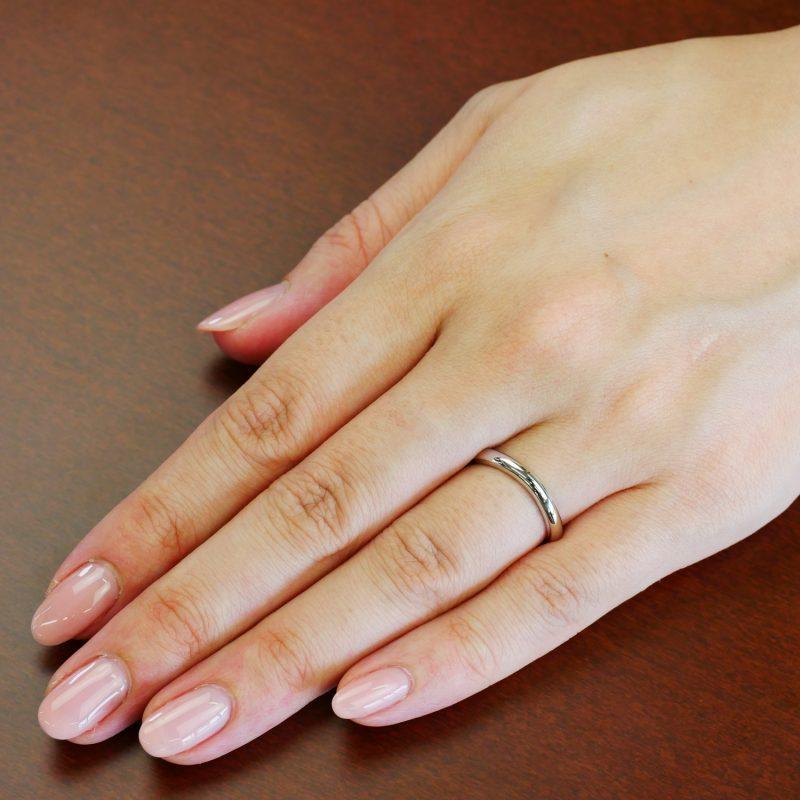 結婚指輪No6 女性用 プラチナ