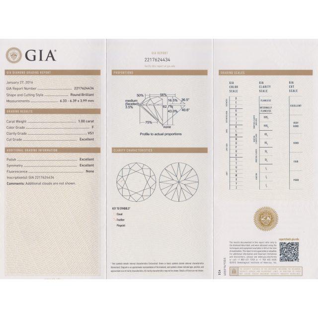 ダイヤモンド GIA 鑑定書
