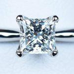 プリンセスカット ダイヤモンド