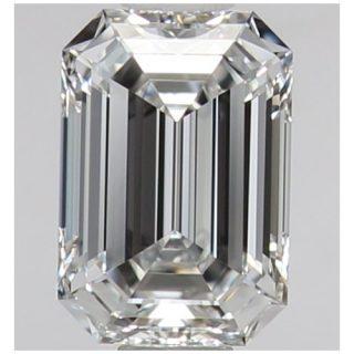 エメラルドカット ダイヤモンド 0.51ct E VVS1 GIA 鑑定書付き