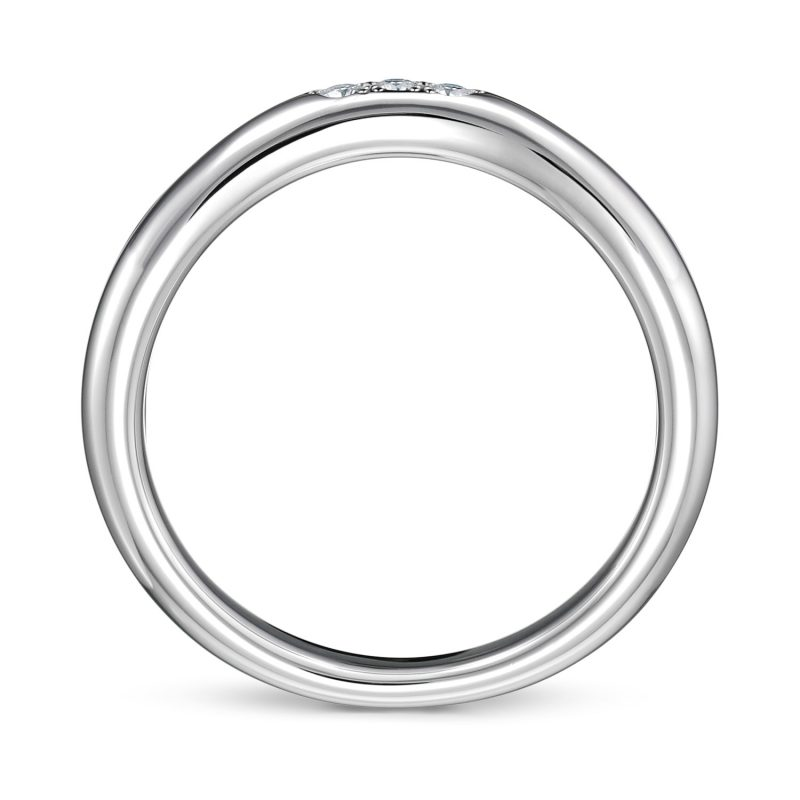 結婚指輪No6 ダイヤモンド 0.03ct プラチナ