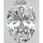 オーバルカット ダイヤモンド 0.50ct E VVS1 GIA 鑑定書付き
