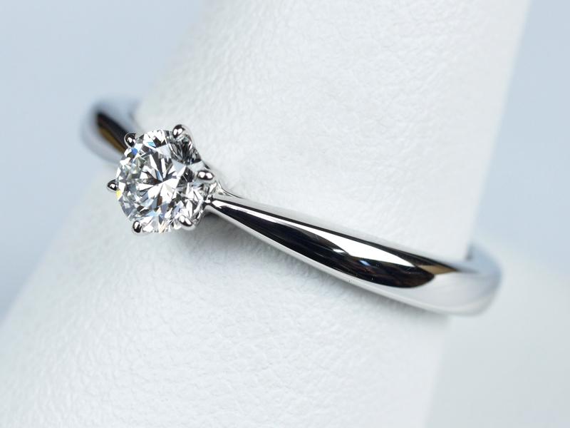 磨き直し 新品仕上げの婚約指輪