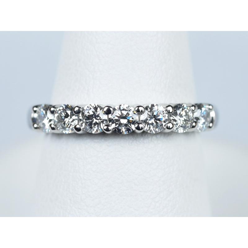 エタニティリング 0.63ct ダイヤモンド プラチナ