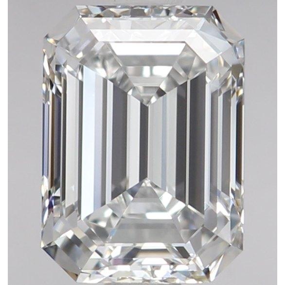 エメラルドカット 1カラット ダイヤモンド ルース