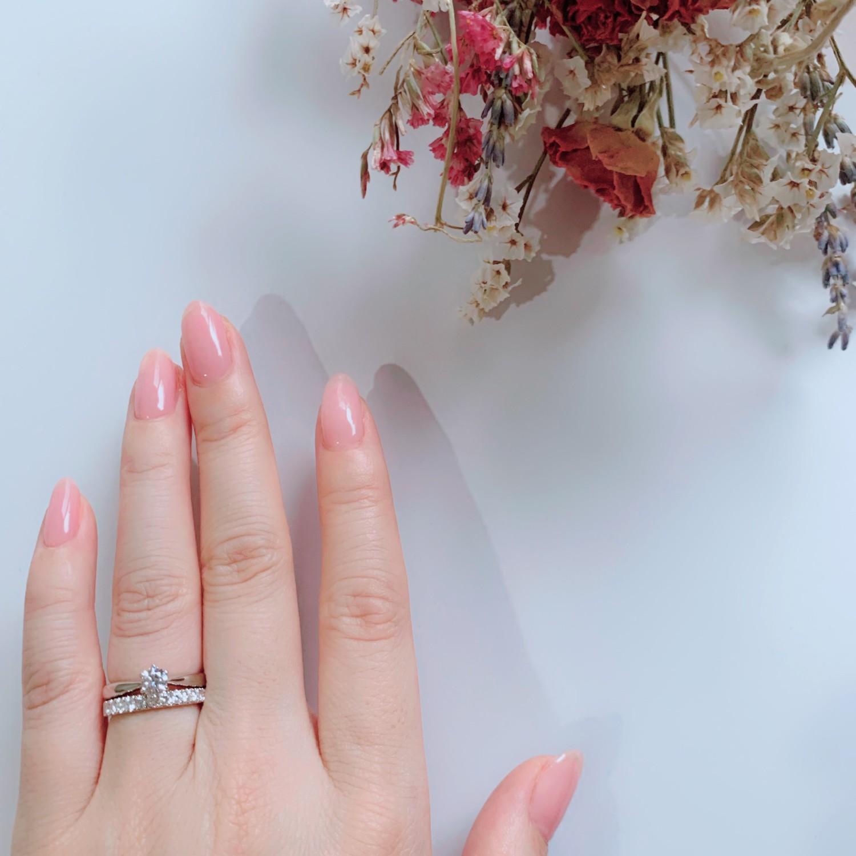 エタニティリングと婚約指輪