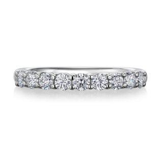 エタニティリング 0.52ctダイヤモンド プラチナ