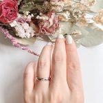 結婚指輪No1 Diamond 0.01ct プラチナ(幅2.5mm / Pt950)