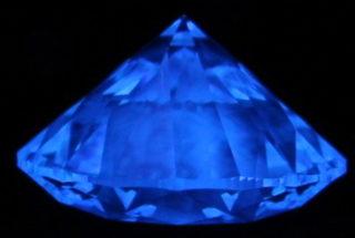 ダイヤモンド 蛍光性